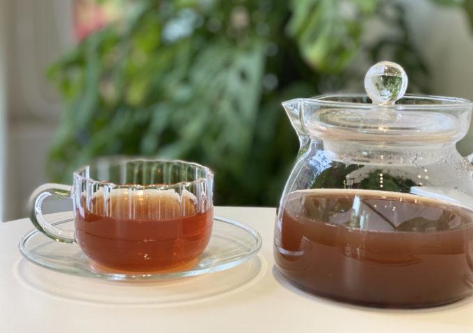 夏の暑い日の「むくみ」におすすめしたいお茶ができました!!